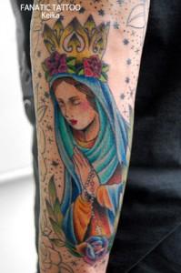 VirginMary Tattoo マリアのタトゥー/Keika_FanaticTattoo