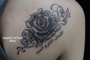Rose Tattoo バラのタトゥー/Keika_FanaticTattoo