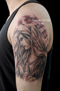 VirginMary Tattoo マリアの刺青/Keika_FanaticTattoo