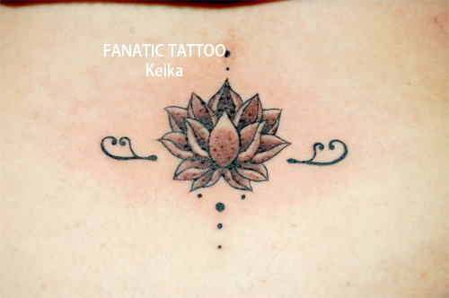 Small LotusTattoo 蓮のワンポイントタトゥー/Keika_FanaticTattoo