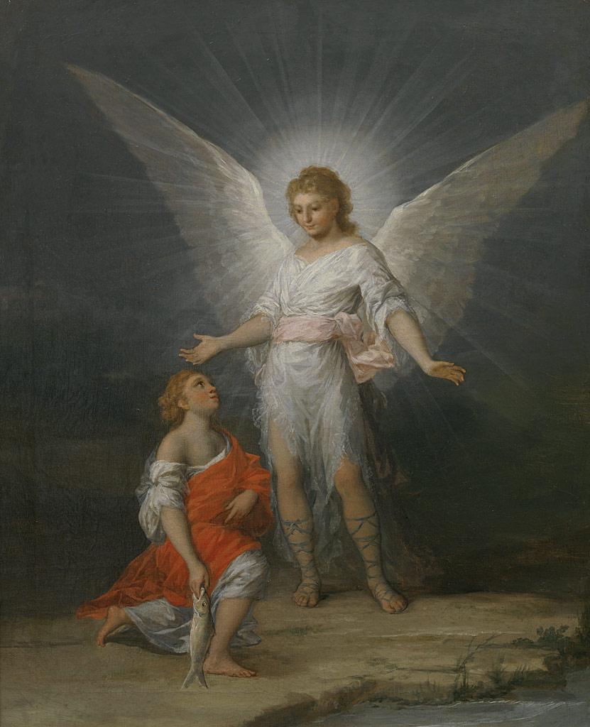 フランシスコ・デ・ゴヤ・イ・ルシエンテス  『トビアスと天使』