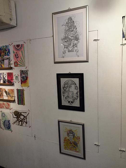 原宿デザインフェスタギャラリー展示会