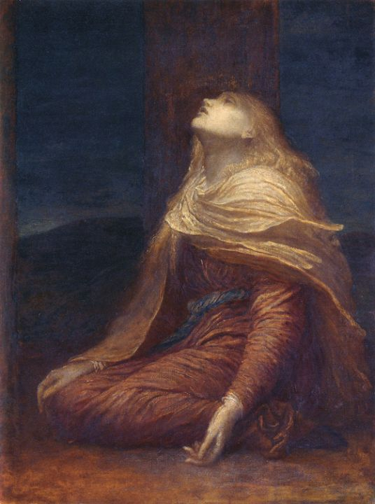ジョージ・フレデリック・ワッツ;十字架下のマグダラのマリア