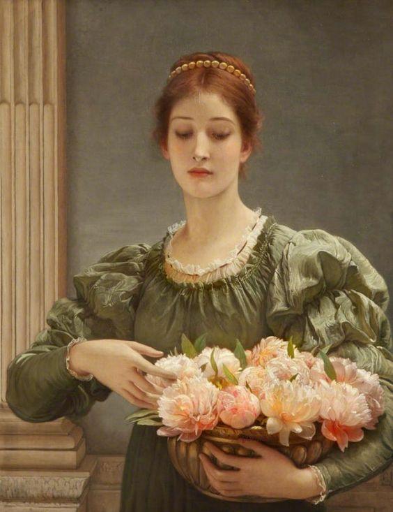 チャールズ・エドワード・ペルジーニ;シャクヤクの花
