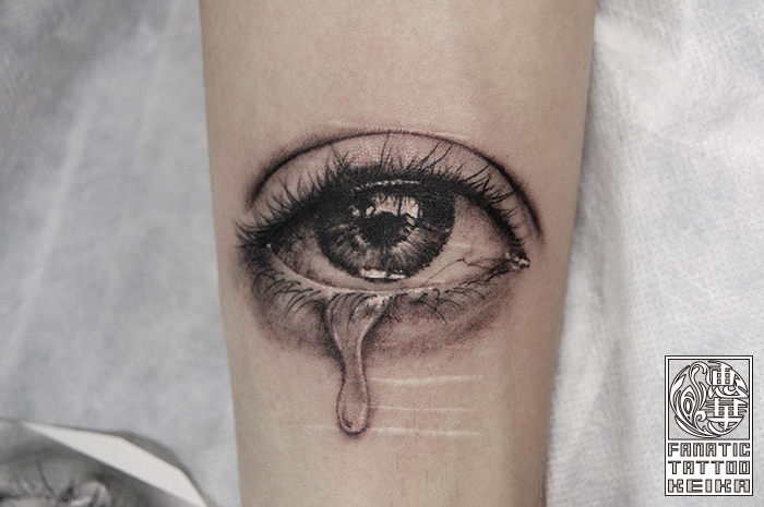 リアルな目のタトゥー Realistic Eye Tattoo /Keika_FanaticTattoo