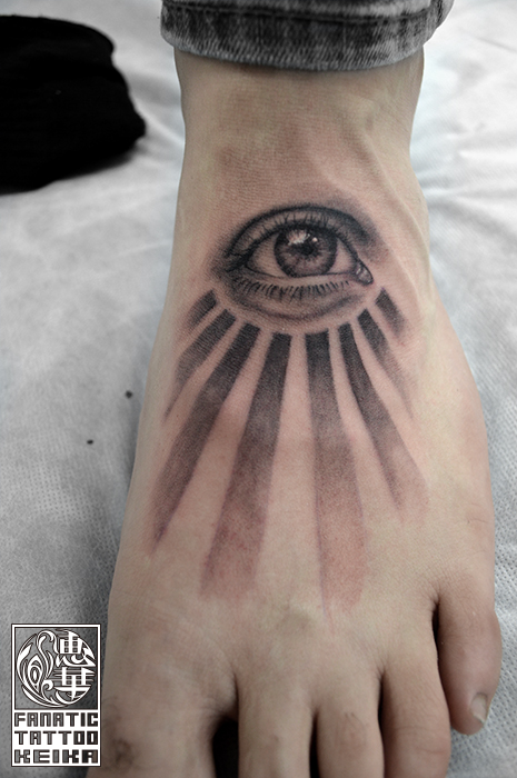 目のタトゥー Eye Tattoo /Keika_FanaticTattoo