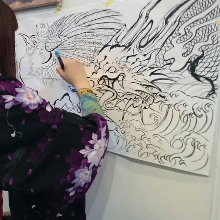ジャパンエキスポ2016 ライブペイント