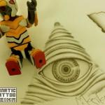 プロビデンスの目タトゥーデザイン Eye of Providence Tattoo design /Keika_FanaticTattoo
