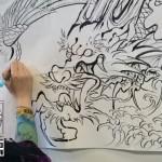 ジャパンエキスポ2016 ライブペイント_恵華-Keika-タトゥー刺青_横浜彫師