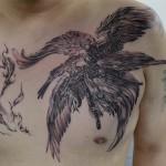 ルシファのゲームタトゥー Keika_FanaticTattoo