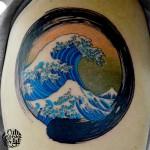波 浮世絵 北斎 Ukiyoe Hokusai