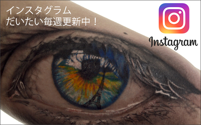 Instagram・女性彫師・恵華・横浜・タトゥー・刺青・彫師