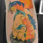ポケモンタトゥー,Pokemon Tattoo,刺青・タトゥースタジオ 女性彫師 恵華-Keika-