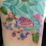 花のタトゥー – Flower Tattoo