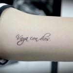 筆記体レターのタトゥー,Letter Tattoo,女性彫師 恵華-Keika-