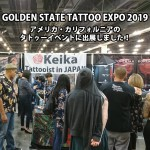 GOLDEN STATE TATTOO EXPO 2019  女性彫師 恵華-Keika-