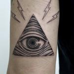 プロビデンスの目タトゥー – Eye of Providence Tattoo