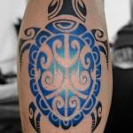 亀のトライバルタトゥー – Turtle,Tribal Tattoo