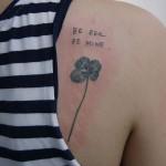 クローバーのタトゥー, Clover Tattoo,刺青・タトゥースタジオ 女性彫師 恵華-Keika-