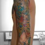 迦楼羅天和彫り刺青,Garuda,Japanese Tattoo,刺青・タトゥースタジオ 女性彫師 恵華-Keika-