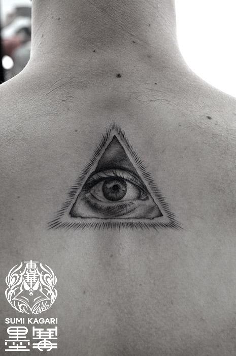 プロビデンスの目タトゥー Eye of Providence Tattoo