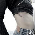 バラのワンポイントタトゥー,Rose,Small tattoo,タトゥー,刺青,Tattoo,刺青,タトゥースタジオ,女性彫師,彫師,恵華,Keika
