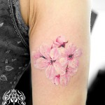 桜タトゥー,Cherryblossom,タトゥー,刺青,Tattoo,刺青,タトゥースタジオ,女性彫師,彫師,恵華,Keika