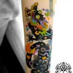 龍でカバーアップのタトゥー – Dragon Tattoo