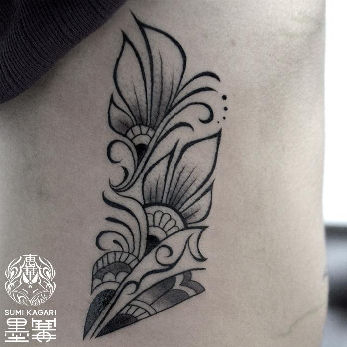 トライバルタトゥー,ラインワーク,タトゥー,刺青,Tattoo,刺青,タトゥースタジオ,女性彫師,彫師,恵華,Keika