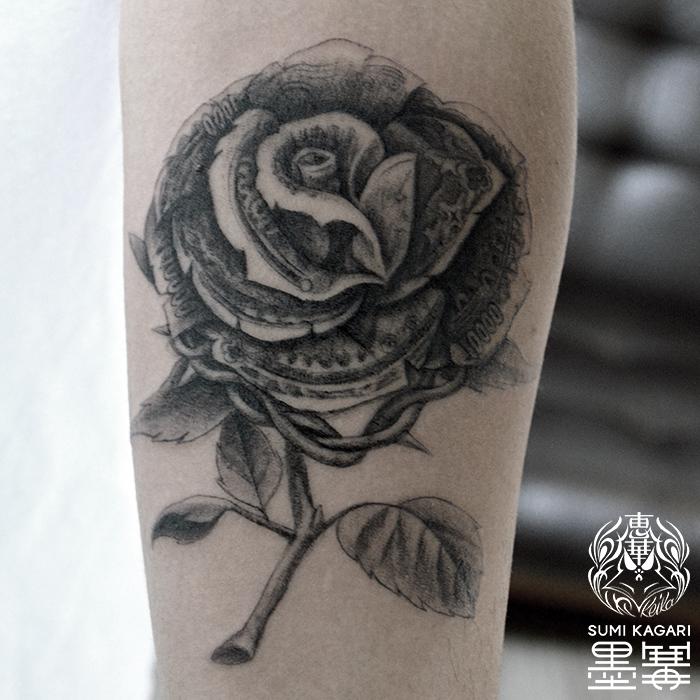 マネーローズタトゥー,MoneyRose,Tattoo,刺青,タトゥースタジオ,女性彫師,恵華,Keika
