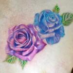 バラのタトゥー,Rose,Tattoo,刺青,タトゥースタジオ,女性彫師,恵華,Keika